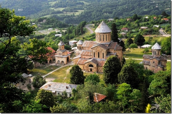 Gelati Monastery in Kutaisi by Badri Vadachkoria