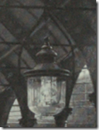 Original platform lighting at Darlington Bank Top Station