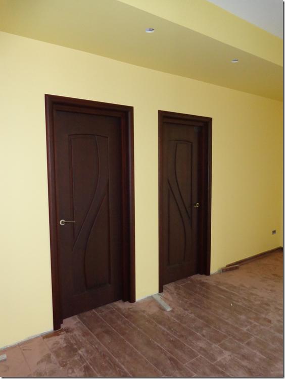 Bedroom Doors (Living Room Face)