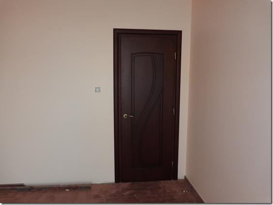 Door as seen from inside the other bedroom